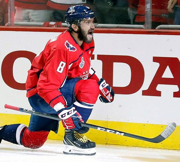 Alex Ovechkin Hockey Stick Tape