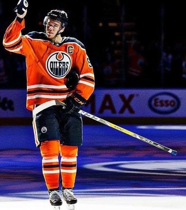 Connor McDavid Hockey Stick Tape