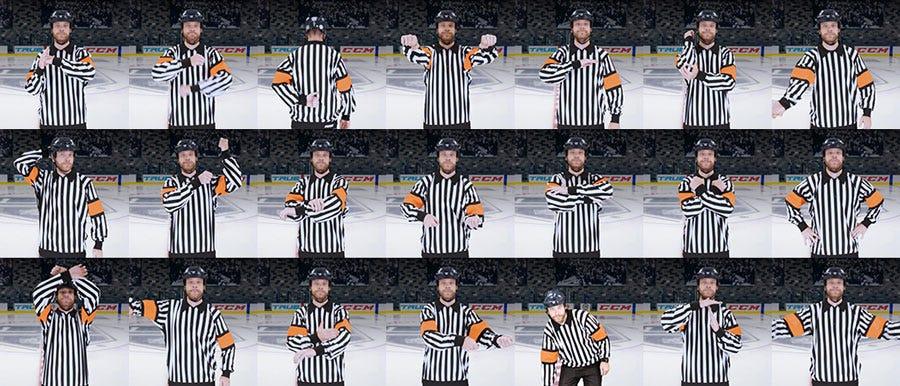 Hockey Penalty Signals