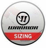 Warrior Shoulder Pad Sizing Chart