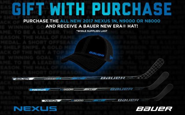 Bauer 2017 Nexus Hockey Sticks