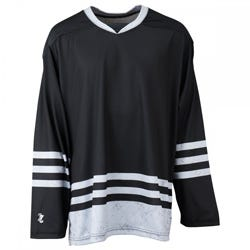 Steel Blackout Sublimated Hockey Jersey