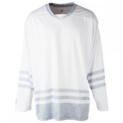 Steel Whiteout Sublimated Hockey Jersey
